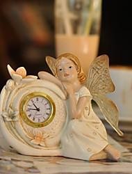 "6 ""H European Style Polyresin Tabletop Uhr"