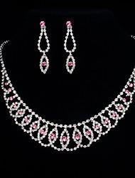 Eyes Necklace&Earring Set