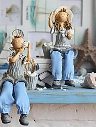 "8 ""Country Style Doll Tipo Colecionadores (2 PCS)"