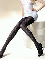 300D Vintage Jacquard Weave Pantyhose