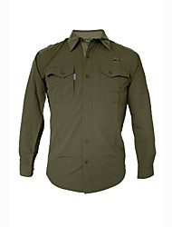 Outdoor Men's Shirt Camping & Hiking / Hunting / Fishing / Climbing Breathable / Ultraviolet Resistant / Quick Dry / Wearable SummerLight
