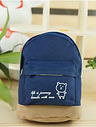 Mini mountaineering buckle School Bag Change Purse(Dark Blue)