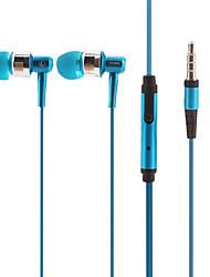 iP670 stereo hi-fi di musica con microfono in-ear Blu