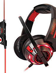 Somic G983 Stereo Gaming USB 7.1 Sound Channel Over-Ear Headphone with Mic and Remote for PC