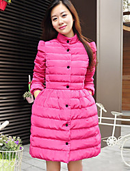 Women's Coats & Jackets , Polyester Casual HYSHA