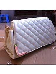 baimulin Women's White Composite Skin Elegant Shoulder Bag 29*11*18cm