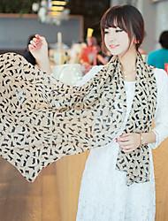 Alin-kiss Cat Pattern Scarf(SJ011)