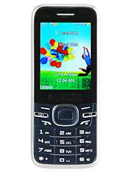 """xds8 2.2 """"teléfono móvil del teléfono 2g bar (dual sim, teclado qwerty)"""