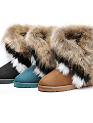 Women's Short Boots With Fur