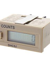 dhc3j minuterie compteur mécanique numérique compteur électronique d'affichage compteur numérique numérique