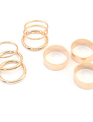 European Style Punk Multi Ring Seetings