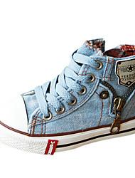 Fashion Sneaker Girls Canvas 'con con cordones