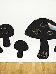 Blackboard sticker mural, amovible, Écrire sur le champignon