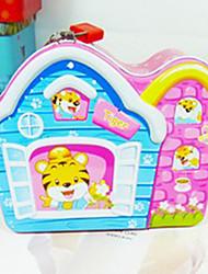 Creative Cute Pink Tiger House Saving Pot