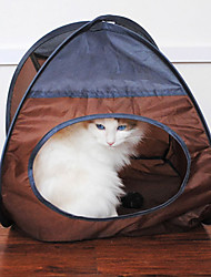 Ventilate Terylene Kitty Tent for Pets Dogs Cats (Assorted Colors)
