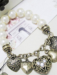 MISS U Frauen Bronze Vintage-Armband
