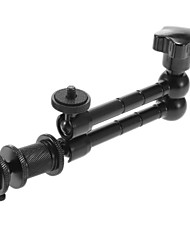 """11 inch Black Articulating Magic Arm w/ 1/4"""" Screw for HDMI Monitor/ LED lights / Camera"""