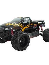 5.1 2WD Gas Powered Ready To RC Monster Truck (Schwarz) Führen