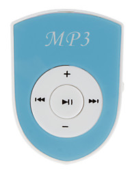 Sheild Shaped MP3 Player with Card Clip
