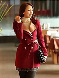 Women's Polyester/Wool Casual KALINKA