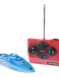 High-Power Mini RC Racing Boat (Bleu)