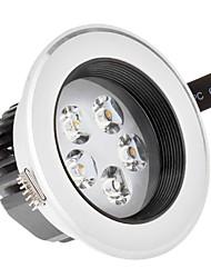5W 5xHigh Мощность 475LM 6500K холодный белый свет светодиодные утопленный вниз свет - Серебряная гарантия (85-265В)