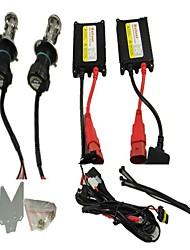 DC Delgado Hid Kit Bi Xenon 9007 H / L viga 12V 35W 6000K