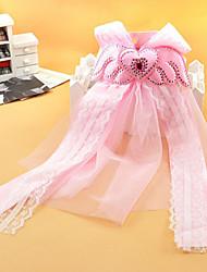 Angel Wings Liebevoll verzierte Chiffon-Spitze-Schwanz-Haarnadel für Haustiere Hunde (verschiedene Farben)