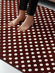 Bath Mat Modern Polka Dot Pattern 7 Colours Available