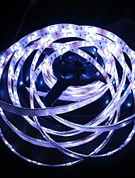 RGB Led Strip Light Waterproof 5M SMD 5050 150 LEDs/Roll + 44 keys IR Remote Controller + 12V 5A Power Adapter