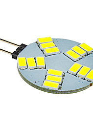 5W G4 Spot LED 15 SMD 5630 330 lm Blanc Froid DC 12 V