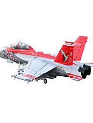 Lan Xiang F18 12CH 70 millimetri jet EDF RC RTF (Red Viper)