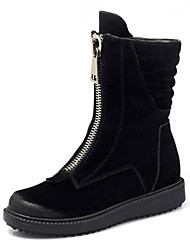 Leather Women's Motorcycle Boots