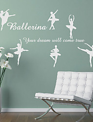 People Ballet Wall Stickers