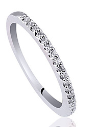 Frauen 925 Sterling Silber Band-Ring