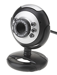 5.0 Megapixel 180 Degree Rotating USB Drive-free Night-Vision Webcam with Buil-in Microphone