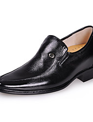 Leather  Men  Dress Low Heel Comfort  Elevator Shoes