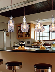 Pendant Light ,  Vintage Modern/Contemporary Traditional/Classic Island Feature for Mini Style Metal Dining Room 4 Bulbs