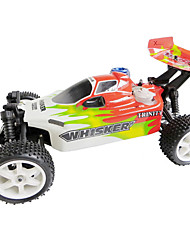 1/10th escala 4WD Nitro Motor Off-Road Buggy RC