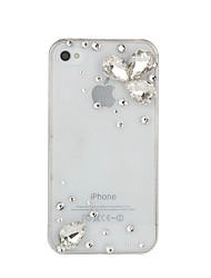 WWX Women's Water Drop Crystal Cell phone Case For Iphone4/4S WWX008
