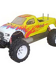 1/5 4WD Gas Powered Ready To Run Monster RC Truck (Yellow)