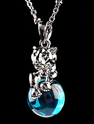 The French Idee Art Jewelry Charm Eye Sexy Necklace (Screen color)