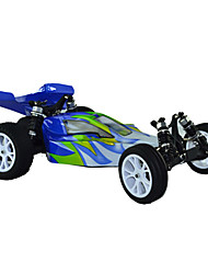 1/10 Scale 2WD elétrica escovado RC Buggy (Azul e Branco)