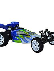 1/10 Maßstab 2WD Brushed Elektro RC Buggy (Blau & Weiß)
