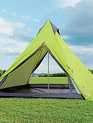 ODC  Season Camping 4 Person Green Tipi Tent