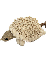 Squeak Sisal Soft-Fleece Funny Turtle Stil Kauen Spielzeug für Haustiere Hunde Katzen (versch. Farben, Größen)