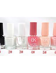 BK Solid Color Nail Polish No.1-6
