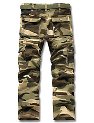 PPZ Casual Fashion Camouflage Pattern Pant
