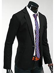 KALO pleine de mode costume de couleur Jacket (Black)