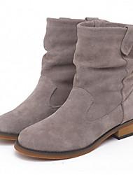 Maibu Warm Thicken Leather Martin Boots